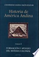 Historia de América Andina