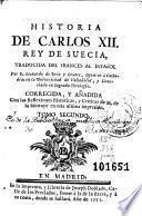 Historia de Carlos XII, rey de Suecia