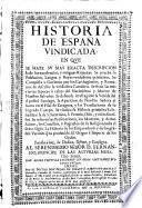 Historia de España Vindicada