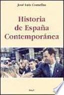 Historia de Espa?a Contempor?nea