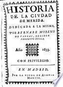 Historia de la ciudad de Merida