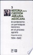 Historia de la cuestion agraria Mexicana
