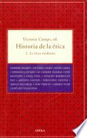 Historia de la Etica, 2. La Etica moderna