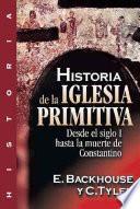 Historia de la iglesia primitiva