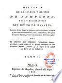 Historia de la Iglesia y Obispos de Pamplona