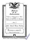 Historia de la intervención europea y norteamericana en México