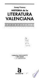 Historia de la literatura valenciana