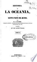 Historia de la Oceania o Quinta parte del mundo
