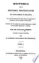 Historia de la reforma protestante en Inglaterra é Irlanda