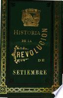 Historia de la Revolucion de setiembre, obra que escriben E.M. Vilarrasa y J.I. Gatell