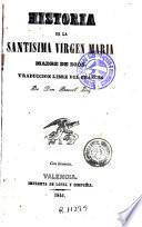 Historia de la santisima Virgen Maria Madre de Dios