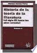 Historia de La Teoria de La Literatura