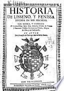 Historia de Lisseno, y Fenissa