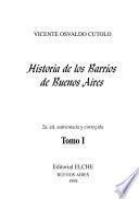 Historia de los barrios de Buenos Aires