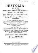 Historia de los seminarios clericales