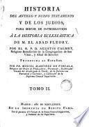 Historia del Antiguo y Nuevo Testamento y de las Indías