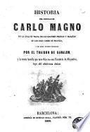 Historia del Emperador Carlo Magno