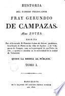 Historia del famoso predicador Fray Gerundio de Campazas alias Zotes, 1