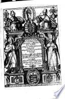 Historia eclesiastica, principias y progressos de la ciudad y religion catolica de Granada (etc.)