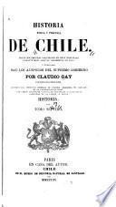 Historia fisica y politica de Chile