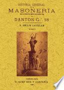 Historia general de la masoneria: desde los tiempos más remotos hasta nuestra época (4 tomos)