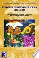 Historia latinoamericana, 1700-2005