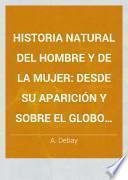 Historia natural del hombre y de la mujer