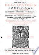 Historia pontifical y catholica. Quarta impression