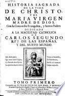Historia sagrada de la vida de Christo y de Maria virgen, madre de dios