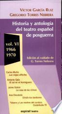 Historia y antología del teatro español de posguerra (1940-1975)
