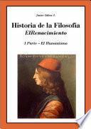 Historio de la Filosofía VI Humanismo