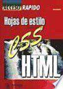 Hojas de estilo HTML.
