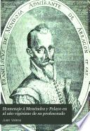 Homenaje á Menéndez y Pelayo en el año vigésimo de su profesorado