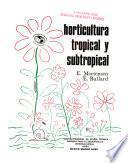Horticultura tropical y subtropical