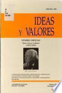 Ideas y valores