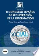 II Congreso español de recuperación de la información