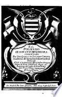 Il Polifemo, Comentado Por Don Garcia De Salzedo Coronel