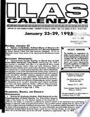 ILAS calendar