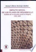 Impacto social de los planes de desarrollo
