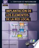 Implantación de los elementos de la red local (MF0220_2)