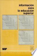 Información para la educación superior