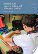 Informe 2016 sobre el estado del sistema educativo. Curso 2014-2015