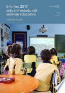 Informe 2017 sobre el estado del sistema educativo. Curso 2015-2016
