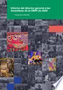 Informe del director general ante las Asambleas de la OMPI de 2020: