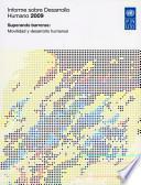 Informe sobre desarrollo humano 2009