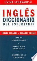 Inglés Diccionario Del Estudiante