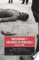 Inseguridad y violencia en Venezuela