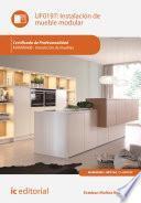 Instalación de mueble modular. MAMR0408