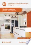 Instalación de muebles de cocina. MAMR0408