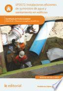 Instalaciones eficientes de suministro de agua y saneamiento en edificios. ENAC0108